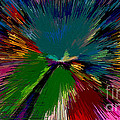 Mardi Gras Abstract by Marian Bell