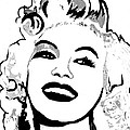 Marilyn What A Beautiful Girl by Saundra Myles