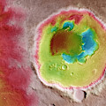 Mars Rabe Crater by Science Source