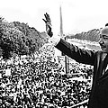 Martin Luther King The Great March On Washington Lincoln Memorial August 28 1963-2014 by David Lee Guss