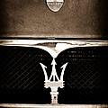 Maserati Hood - Grille Emblems by Jill Reger