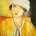 Matisse's Lorette With Turban And Yellow Jacket by Cora Wandel