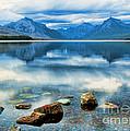 Mcdonald Lake by Gary Beeler