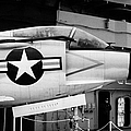 Mcdonnell F3h2n F3b F3 Demon On The Flight Deck On Display At The Intrepid Sea Air Space Museum by Joe Fox