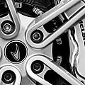 Mclaren Wheel Emblem by Jill Reger