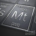 Meitnerium Chemical Element by Science Picture Co