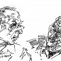 Men Talking by Ylli Haruni