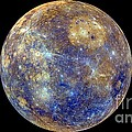 Mercury Hemisphere, Messenger Image by Nasa