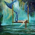 Mermaids Lazy Lagoon by Leslie Allen