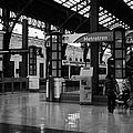 metrotren platforms in Santiago central railway station Chile by Joe Fox