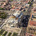 Mexico City Aerial View by Jess Kraft
