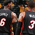 Miami Heat V Indiana Pacers - Game 2 by Nathaniel S. Butler