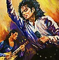 Michael Jackson In Concert by Al Brown