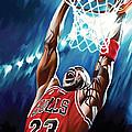 Michael Jordan Artwork by Sheraz A