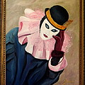 Mime With Thoughts by Gino Didio