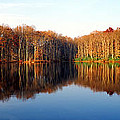 Mirror Lake Panoramic by Mike Nellums
