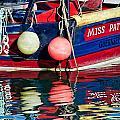 Miss Pattie At Lyme Regis Harbour  by Susie Peek