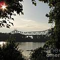 Missouri River Sunrise  by Jamie  Smith