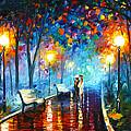 Misty Mood by Leonid Afremov