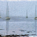 Misty Sails Upon The Water by Jeff Folger