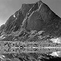 109644-bw-mitchell Peak, Wind Rivers by Ed  Cooper Photography