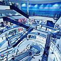 Modern Shopping Mall Interior by Michal Bednarek