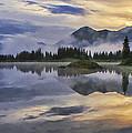 Molas Lake Sunrise by Priscilla Burgers