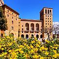 Monastery In Montserrat by Karol Kozlowski