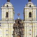 Monastery Of San Francisco - Lima Peru by Jon Berghoff