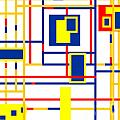 Mondrian Color Teraphy by Celestial Images