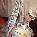 Monet's The Cradle -- Camille With Artist's Son Jean by Cora Wandel