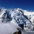 Mont Blanc - France by Cristina Stefan