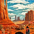 Monument Valley View by Marilyn Smith