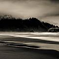 Moody Oregon Beach by Paul Haist