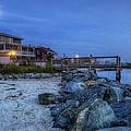 Moon Over Dewey Beach by David Dufresne