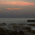 Moonrise Coral Cove by Bruce Bain