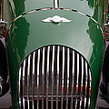 Morgan Plus 4 Grill And Hood by Roger Mullenhour
