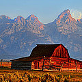Mormon Row And The Grand Tetons  by Ken Smith