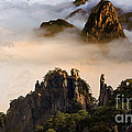 Morning Fog China Mountains  by Heinz G Mielke