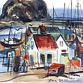 Morro Bay by Hazel Stitt