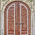 Mosque Doors 09 by Antony McAulay