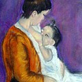 Mother And Baby by Fineartist Ellen