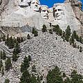 Mount Rushmore by Wolfgang Woerndl