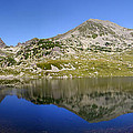Mountain And Lake by Ioan Panaite