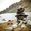 Mountain Lake Gosaikunda Nepal by Raimond Klavins