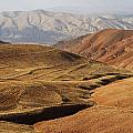 Mountain Scenary Near Zanjan In Iran by Robert Preston