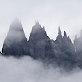Mountains In Fog, Prince Christian by Daisy Gilardini