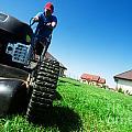 Mowing The Lawn by Michal Bednarek
