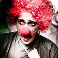 Ms Frightened The Scared Clown by Jorgo Photography - Wall Art Gallery