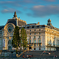 Musee D'orsay Evening by Brian Jannsen